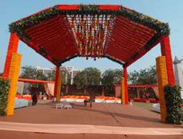south Indian wedding decoration