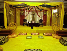 Sangeeth decoration