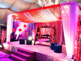 Narth Indian wedding decoration