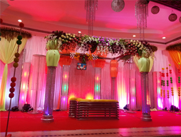 Indian wedding decoration